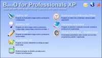 Download instalacije programa BandD for Professionals XP